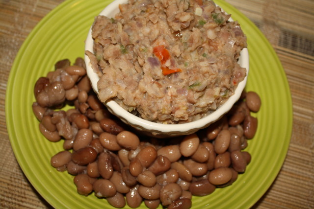 Cilantro And Lime Refried Beans Recipe — Dishmaps